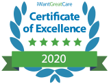 I want great care certificate of excellence